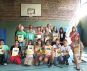 Zeugnisausgabe 6. Klassen Schuljahr 2012/13